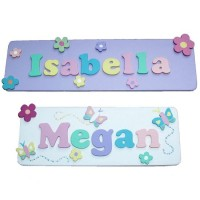 Decorative Name Plaque (Girl)