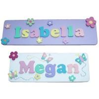 Decorative Name Plaque (Girl)