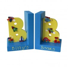 Initial Bookends (Boy)