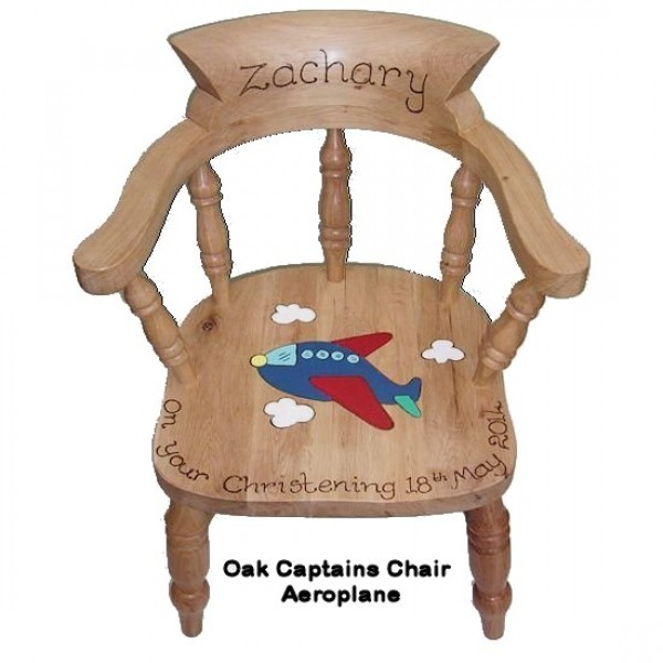 personalised childs wooden chair expert event