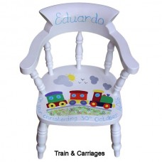 Captains Chair (White)