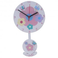 Child's Pendulum Clock (Girl)