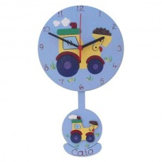 Child's Pendulum Clock (Boy)