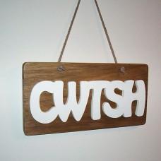 Cwtsh/Cwtch Sign