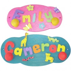 Decorated Name Hanger