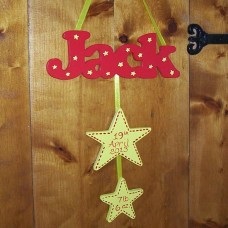 Hanging Wooden Name