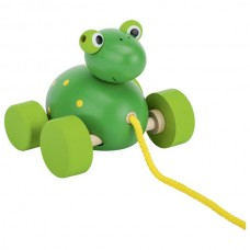 Pull Along Frog