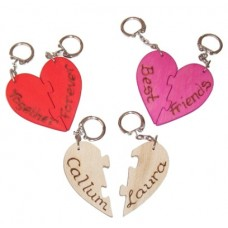 Love Heart Keyrings