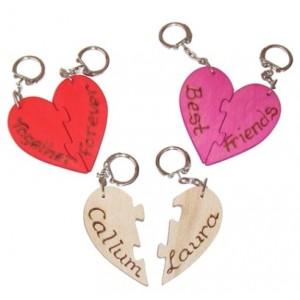 Love Heart Keyrings