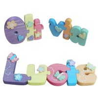 Decorated Name Jigsaw (Girl)