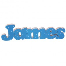 Painted Name Jigsaw (Boy)