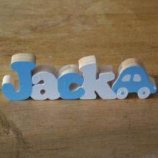 Name with Jigsaw Car