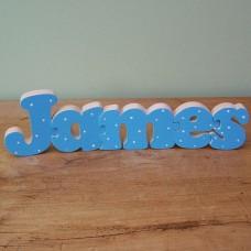 Painted Name Jigsaw (Boy)