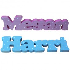 Hand Painted Freestanding Names