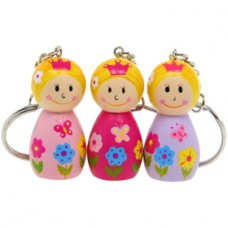 Pretty Princess Keyring