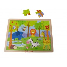 Wooden Tray Puzzle - Animals
