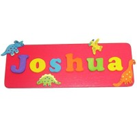 Decorative Name Plaque (Boy)