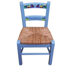 Child's Rush Seated Chair (Painted)