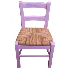 Child's Painted Chair for Girls