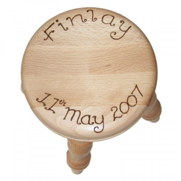 Small Wooden Milking Stool