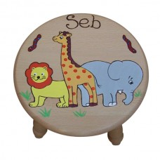 Child's Large Round Stool (Boy)