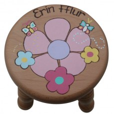 Child's Small Stool (Girl)