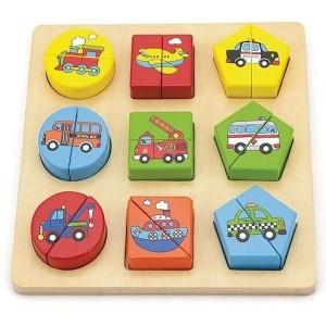 Shape Block Puzzle - Vehicle