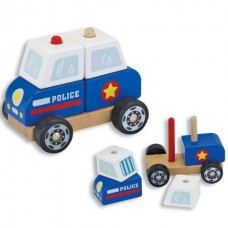 Stacking Police Car