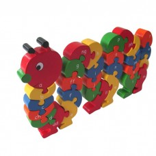 Caterpillar Welsh Alphabet Jigsaw