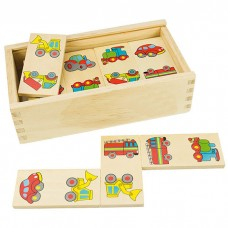 Wooden Picture Dominoes