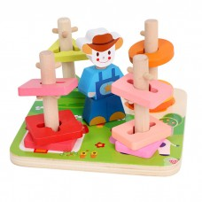 Twist and Turn Farm Stacking Toy