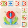 Letters and Numbers Puzzle Board