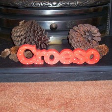 Wooden Croeso