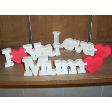 Wooden Love Heart Jigsaws
